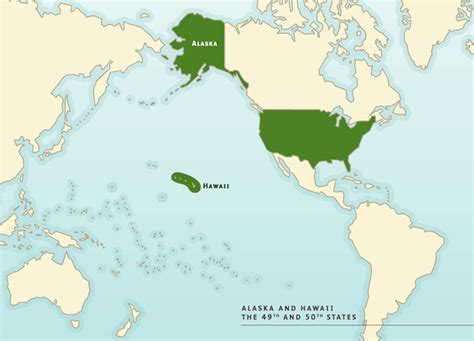 tableau us map with alaska hawaii map of the united states showing alaska and hawaii