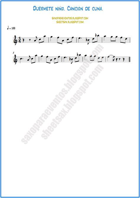cancion de cuna para flauta partitura de quot du 233 rmete ni 241 o quot canci 243 n de cuna para vientos