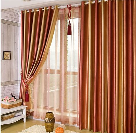 upscale living room colorful curtains red green purple