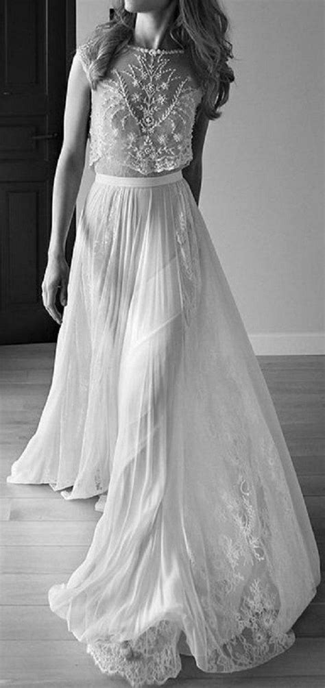 Top 18 Boho Wedding Dresses for 2018 Trends - Oh Best Day Ever