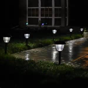 Landscape Solar Lighting Lights Outdoor Landscape Willowbrook Gunmetal Solar Path Lights Set Of 8