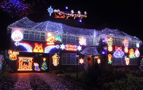 where can we see christmas lights on houses in alpharetta let it glow extravagant light displays on uk homes in pictures telegraph