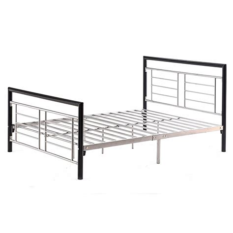 black queen headboard and footboard queen size metal platform bed w headboard and footboard in