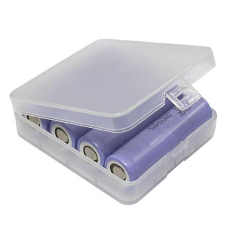 casing baterai transparan untuk 4x18650 transparent jakartanotebook