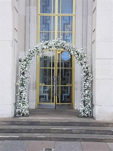 Wedding Arch Rental Uk by Cherry Blossom Flower Wedding Arch White For Hire