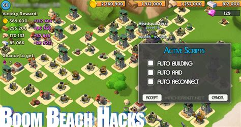 download mod game boom beach boom beach hack auto builders raiders bots and other