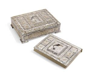 Al Quran Terjemahnya 44 Al Muyyasar Box a large of pearl qur an box and a qur an probably jerusalem 20th century christie s