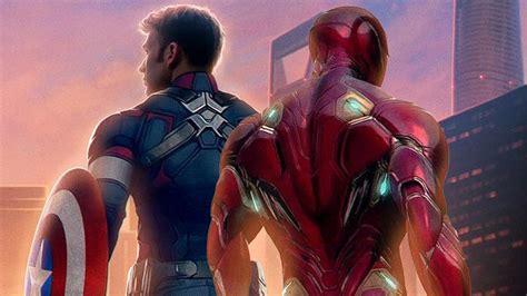 iron man captain america traded destinies