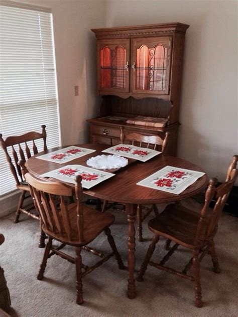 Cochrane Dining Room Furniture Cochrane Oak Dining Room Table Leaf 4 Chairs Furniture In Breinigsville Pa Offerup