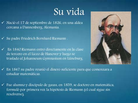 bernhard riemann que hizo geometr 237 a i power