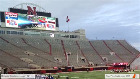 section 36a memorial stadium section 17 rateyourseats com