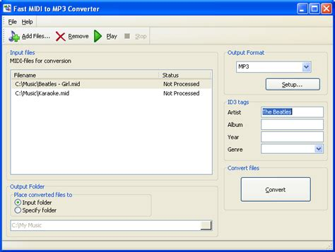 download mp3 converter to midi free download fast midi to mp3 converter 6 1 fast midi