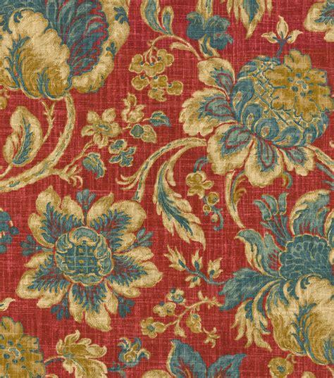 ann arbor upholstery home decor print fabric waverly arbor imagery jewel jo ann