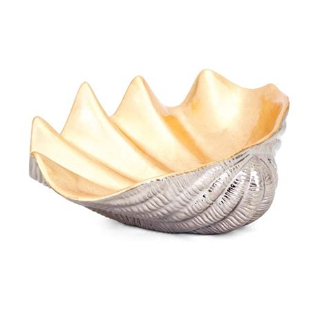 decorative shell bowls geneva ceramic shell decorative bowl bowls imax