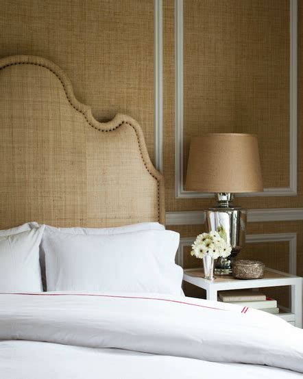 grasscloth wallpaper bedroom natural by design infusing natural elements into home decor