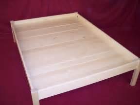 Platform Beds No Slats Custom Bedroom Cabinets Furniture Charles R Bailey