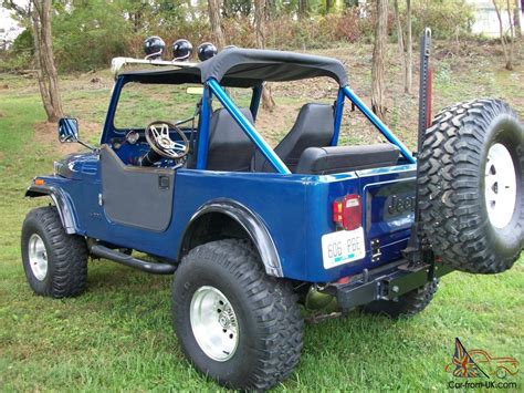 jeep frame 1983 jeep cj7 4x4 custom build frame off restoration