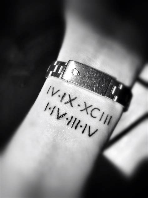 roman numeral tattoo fonts numeral line is for my 20th anniversary