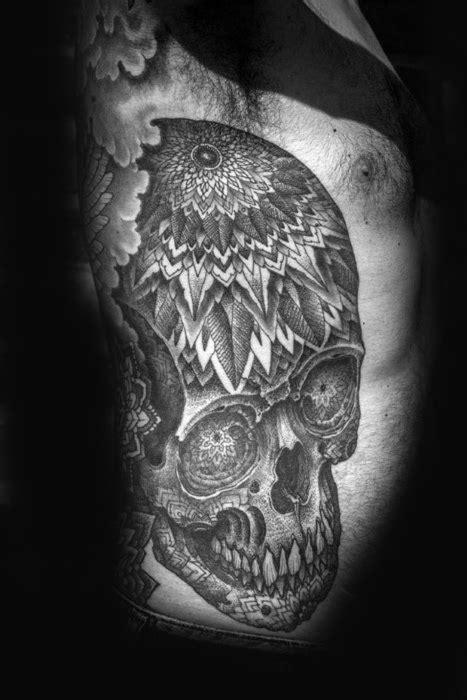 mandala tattoo rib cage 70 mandala tattoo designs for men symbolic ink ideas
