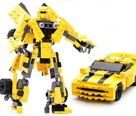 Micro Block Transformer Bumble Bee lego transformers reviews shopping lego