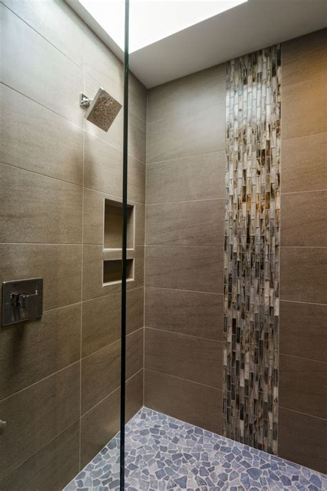 waterfall in bathroom vertical tile for the waterfall effect bathroom ideea
