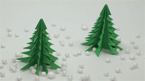 Tree Paper Crafts - origami tree craft diy paper tree