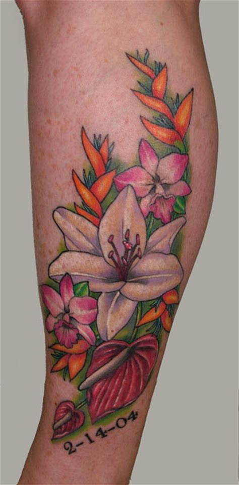 tropical tattoo gallery large image leave comment