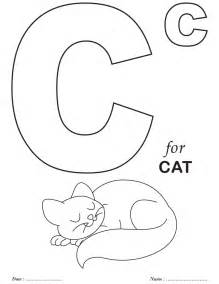 Galerry letter a coloring page alphabet preschool printable activities