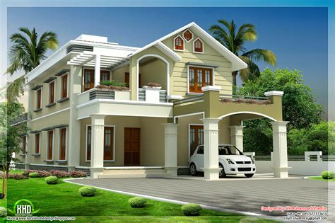 beautiful two floor house design kerala house design idea