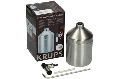 Krups Xs 6000 Xs6000 Auto Cappuccino Set Espresso Coffee Krups Ea Xp bestellen sie ihre auto cappuccino set f 252 r kaffeemaschine xs6000 xs 6000 xs600010 xs