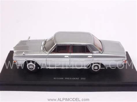 nissan 1987 models ebbro 45307 nissan president 252 1987 silver 1 43