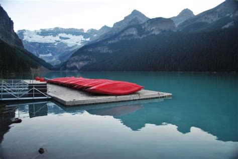 lake louise boat rental the boat rental area picture of fairmont chateau lake