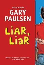 liar in the library the a fethering mystery books liar liar by gary paulsen kirkus reviews