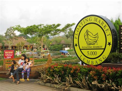 jalan jajan  floating market lembang bandung carpe diem