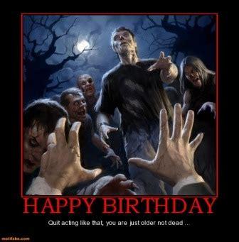 Zombie Birthday Meme - birthday spam