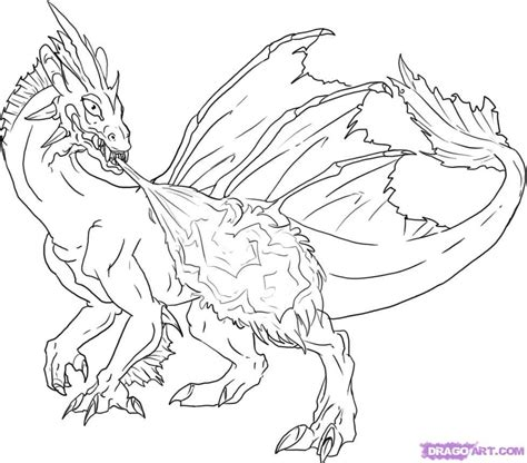 coloring page of dragon fire breathing dragon coloring pages coloring home