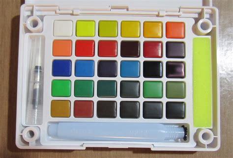Sale Koi Water Color Pocket Set 30 30 color koi watercolor pocket field sketch box review sakuraofamerica koi watercolor