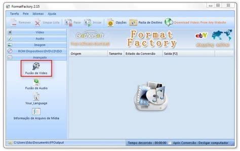 format factory juntar videos programa de juntar videos palpite digital
