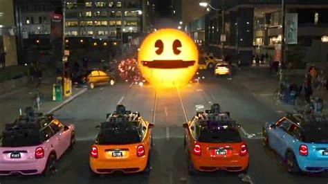 pixel car quot meet pac man quot pixels movie clip youtube
