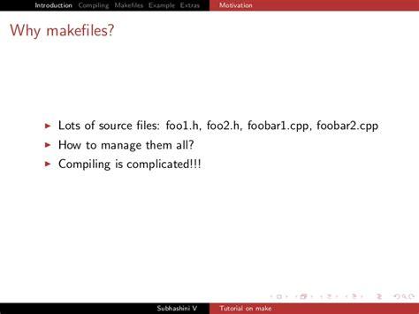 tutorial makefile c makefiles tutorial