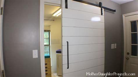Shiplap Construction Shiplap Door Construction Modern Farmhouse Bathroom