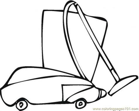 coloring pages vacuum cleaner free coloring pages of vacuum cleaner