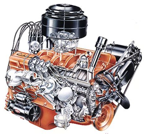 how does a cars engine work 1993 chevrolet 1500 parental controls chevy 265 cid v 8 engine howstuffworks