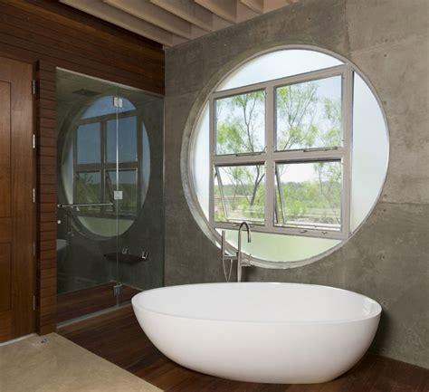 round bathroom window the locomotive ranch trailer incorporating an authentic