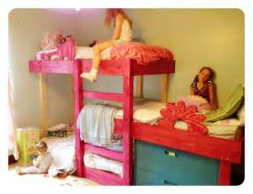 Three Bed Bunk Bed The Handmade Dress New Triple Bunks