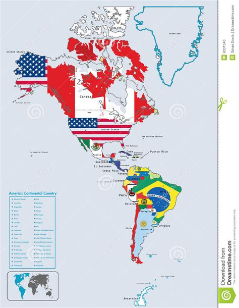 map of american continent america continent map roundtripticket me