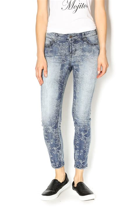 Patterned Denim by Liverpool Company Patterned Denim From Michigan By