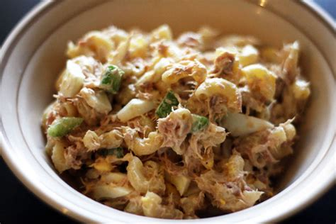 pasta salad with tuna tuna pasta salad recipe dishmaps