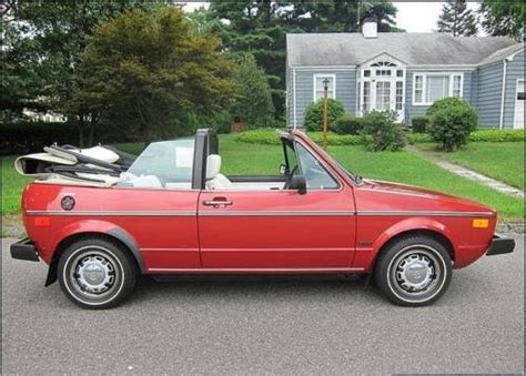 volkswagen rabbit convertible 1981 volkswagen rabbit convertible passenger german cars