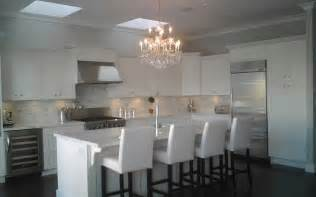 chandeliers in kitchen the friday five kitchenswhite cabana white cabana